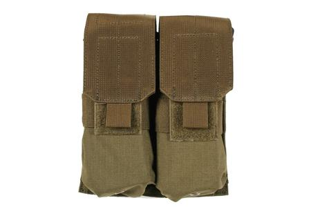 M4/M16 DOUBLE MAG POUCH HOLDS 4 OLIVE DRAB