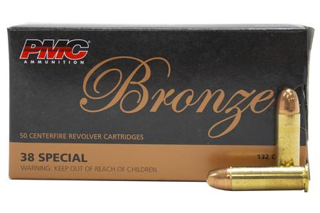 PMC 38 SPL 132 gr FMJ 50/Box