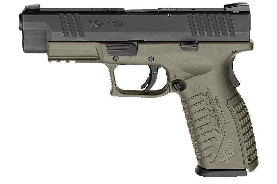 Springfield Xdm 40 Sw 4 5 Full Size Od Green Sportsman S