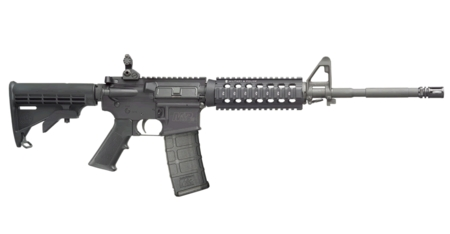 SMITH AND WESSON MP15-X 5.56 WITH SHORT QUAD/BATTLE SIGHT