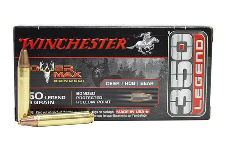 Winchester 350 Legend 160 gr PHP Power Max Bonded 20/Box