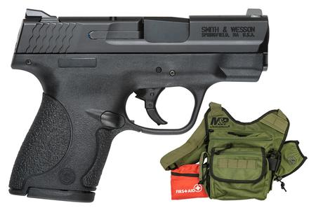 SMITH AND WESSON MP SHLD 9MM 8R FS BUG OB BUNDLE