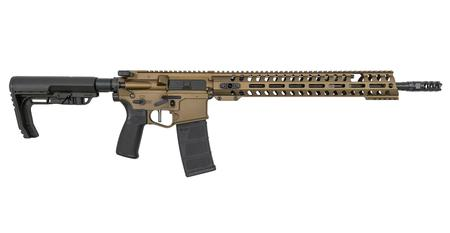POF RENEGADE + 5.56MM SEMI-AUTOMATIC RIFLE WITH BURNT BRONZE FINISH