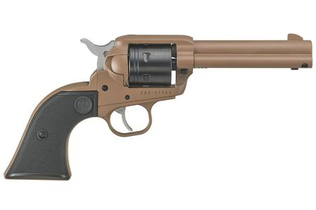 RUGER WRANGLER 22LR .62` DARK EARTH/BLACK