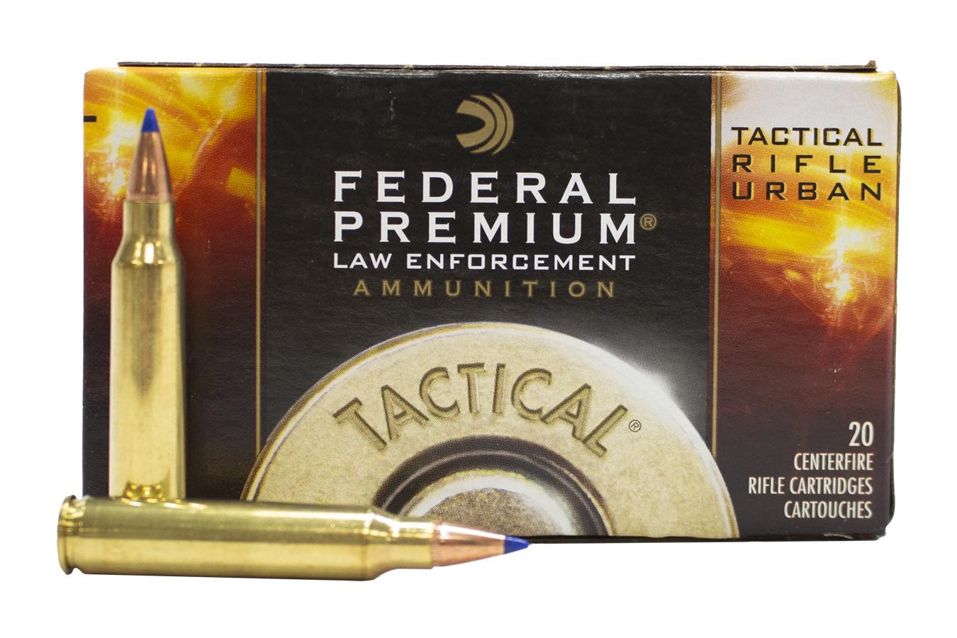 Federal 223 Rem 55 gr Ballistic Tip Police Trade Ammuntion ...