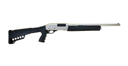 CITADEL CDP-12 12 GA PUMP ACTION SHOTGUN WITH NICKEL FINISH