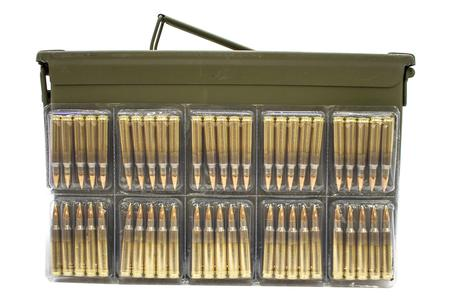 Adi 5.56mm NATO 62 gr FMJ 900 Rounds in Ammo Can