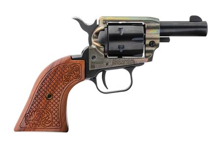 HERITAGE BARKEEP 22 LR REVOLVER WITH SCROLL GRIP HANDLE