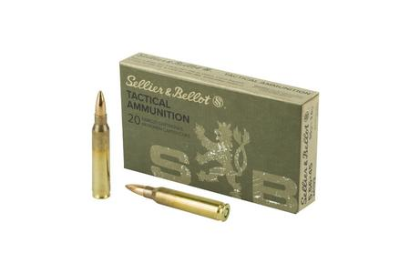 Sellier And Bellot 5.56mm 55 gr FMJ Tactical Ammo 20/Box