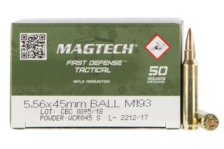 Magtech 5.56mm 55 gr Full Metal Jacket 50/Box