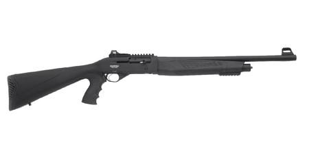 LKCI SEMI AUTO 12GA TACTICAL SHOTGUN 20` BBL BLACK 4 RNDS