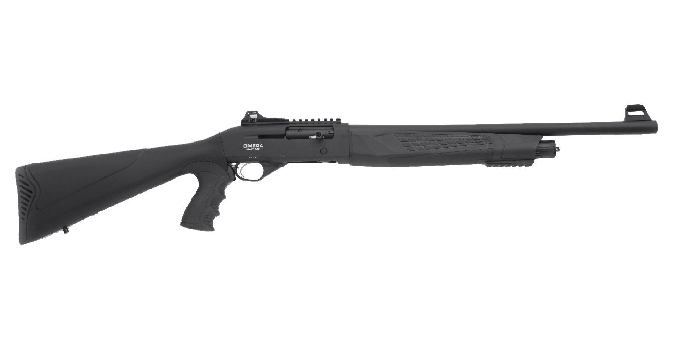 SEMI AUTO 12GA TACTICAL SHOTGUN 20` BBL BLACK 4 RNDS
