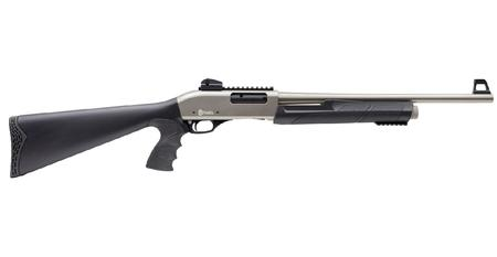 CITADEL PAT PUMP ACTION SHOTGUN 12GA 20` NICKEL FINISH