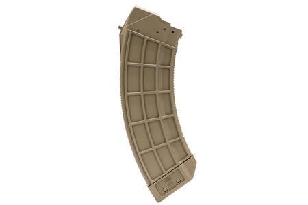 CENTURY ARMS US Palm AK-47 7.62x39mm 30 Round Flat Dark Earth Magazine