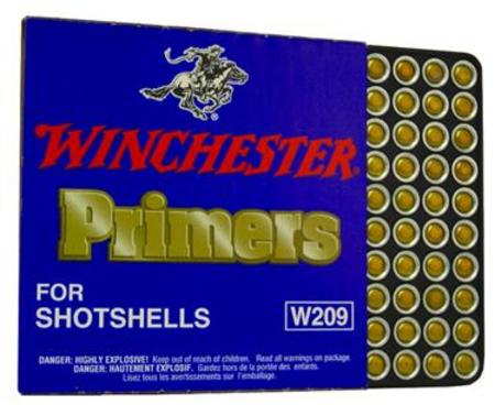 209 SHOTSHELL PRIMERS BRICK