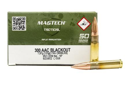 Magtech 300 Blackout 123 gr FMJ Tactical 50/Box