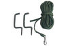 UTILITY ROPE W/ 2 BOW HANGERS