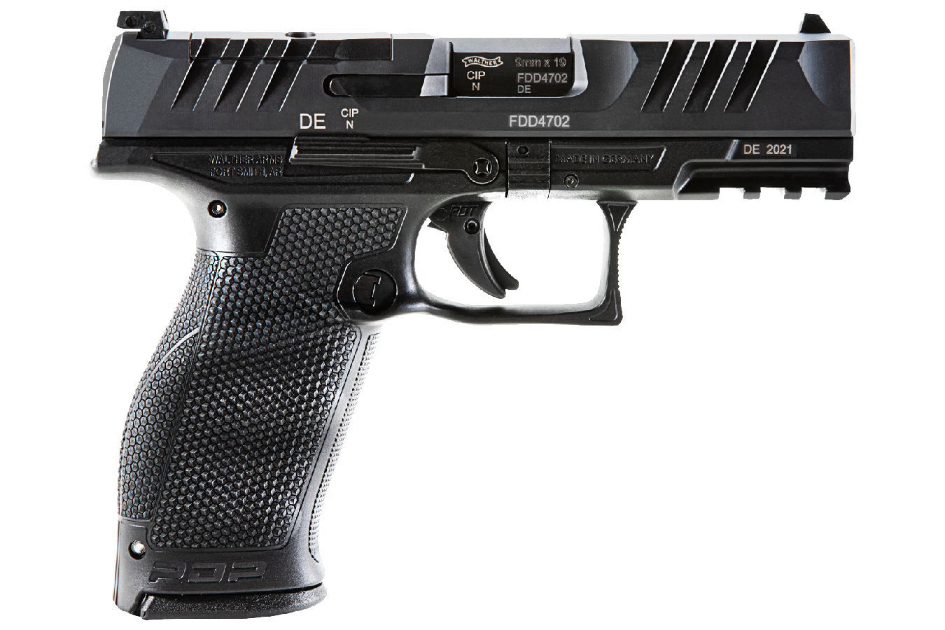 PDP FULL-SIZE 9MM OPTICS READY PISTOL WITH 4 INCH BARREL