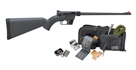 HENRY REPEATING ARMS U.S. SURVIVAL AR-7 BLACK KIT W/SURVIVAL GEAR AND BAG