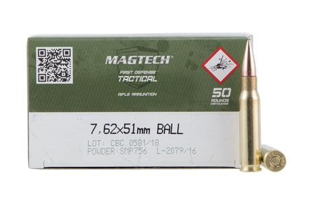 MAGTECH 7.62x51mm NATO 147 gr FMJ Tactical 50/Box