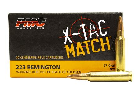 PMC 223 Rem 77 gr OTM X-Tac Match 20/Box