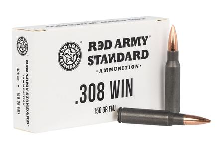 Red Army Standard 308 Win 150 gr FMJ 20/Box