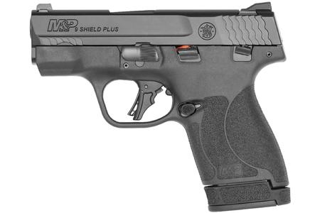 SMITH AND WESSON MP9 SHIELD PLUS 9MM MICRO COMPACT PISTOL WITH THUMB SAFETY