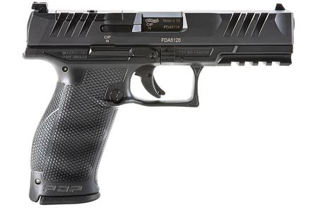 WALTHER PDP FS 4.5IN OPTIC READY  9MM 18RD LAW ENFORCEMENT SS W/3MAGS