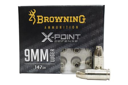 Browning 9mm 147 gr X-Point Defense 20/Box