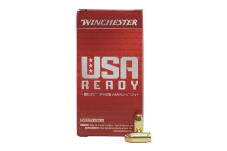Winchester 45 ACP 230 gr FMJFN USA Ready 50/Box