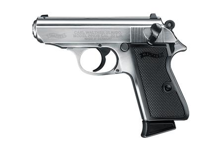 WALTHER PPKS 22LR STAINLESS RIMFIRE PISTOL