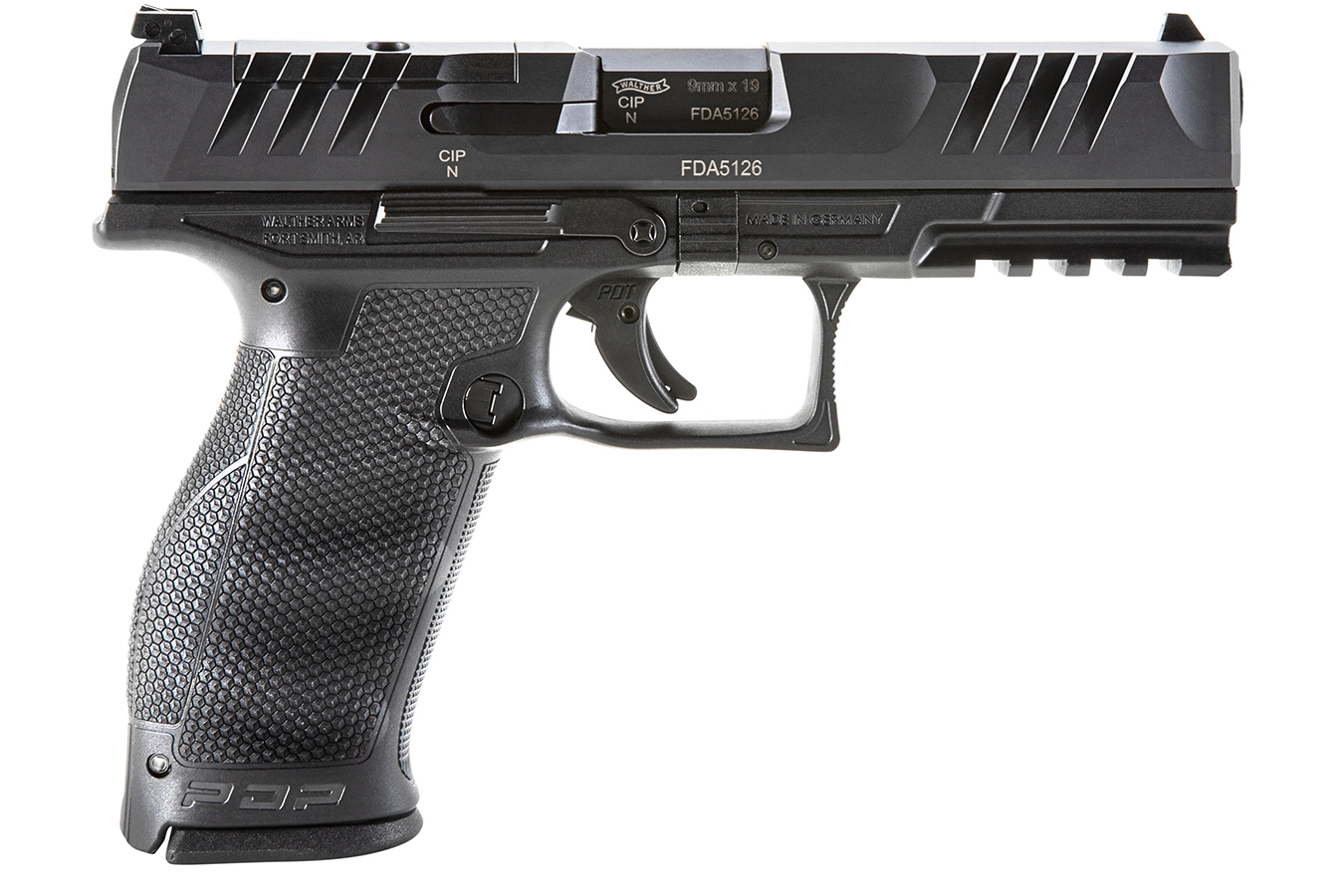 WALTHER PDP FS 4.5IN OPTIC READY 9MM 18RD LAW ENFORCEMENT TS W/3MAGS