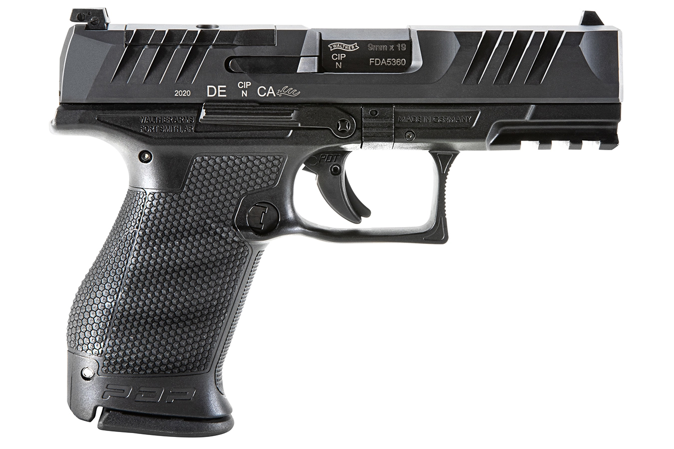 PDP COMPACT 9MM OPTICS READY PISTOL WITH TRITIUM SIGHTS AND THREE MAGS (LE)