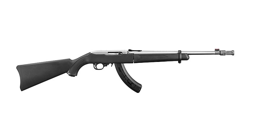 10/22 TAKEDOWN 22LR RIMFIRE RIFLE WITH THREADED STAINLESS BARREL