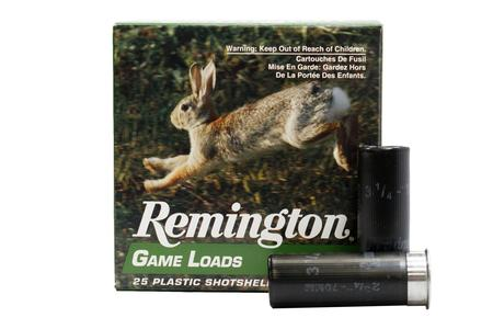 Remington 12 Gauge 2.75 in 1 oz Shot 6 Game Load 25/Box