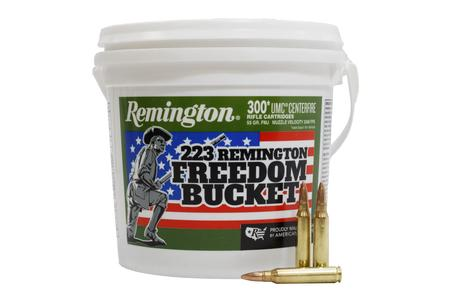 REMINGTON 223 Rem 55 gr FMJ 300 Round Freedom Bucket