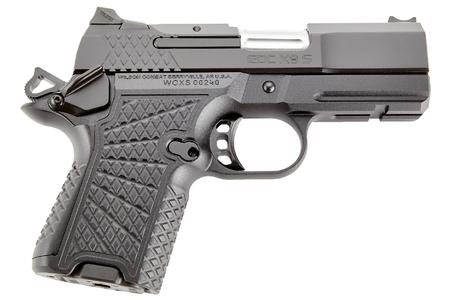WILSON COMBAT EDC X9 9MM SUBCOMPACT PISTOL WITH G10 GRIPS