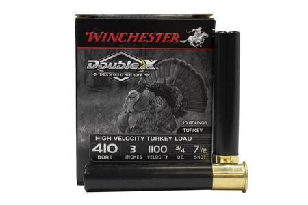 WINCHESTER AMMO 410 Bore 3 Inch 3/4 oz 7.5 Shot Double X Diamond 10/Box