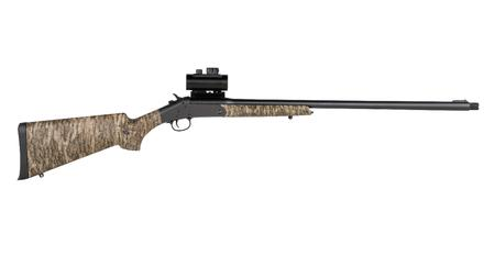 SAVAGE 301 TURKEY XP 20 GAUGE SHOTGUN WITH MOSSY OAK BOTTOMLAND STOCK AND 1X30MM RED DO