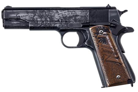 AUTO ORDNANCE 1911 45ACP REVOLUTION CUSTOM EDITION PISTOL WITH ENGRAVED SCROLLING