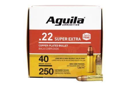 AGUILA 22LR 40 gr High Velocity CPSP Super Extra 250/Box