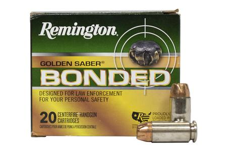 REMINGTON 40SW 180 gr BJHP Bonded Golden Saber 20/Box