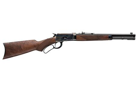 WINCHESTER FIREARMS 1892 DELUXE TRAPPER TAKEDOWN 45 COLT LEVER-ACTION RIFLE WITH COLOR CASE HARDENED