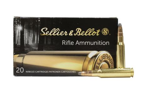 SELLIER AND BELLOT 308 Win 180 gr Soft Point Cut-Through Edge 20/Box