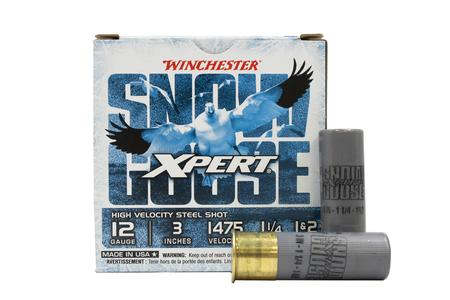 WINCHESTER AMMO 12 Gauge 3 Inch High Velocity Steel Shot Xpert Snow Goose 25/Box