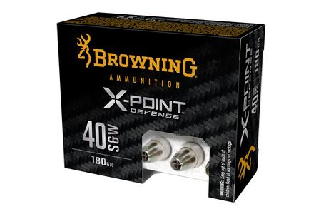 Browning 40SW 180 gr X-Point Defense 20/Box