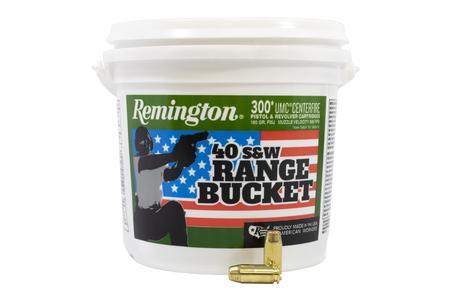 Remington 40 SW 180 gr FMJ 300 Round Range Bucket