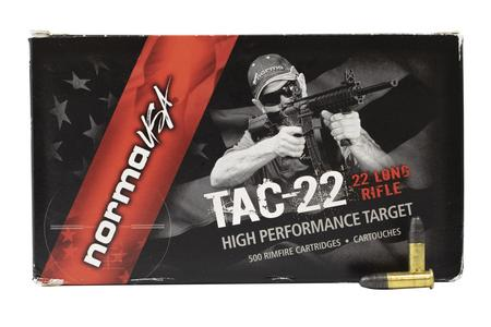 Norma 22LR 40 gr LRN Tac High Performance 50/Box