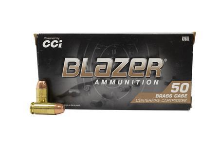 CCI 40SW 165 gr FMJ Blazer Police Trade Ammo 50/Box