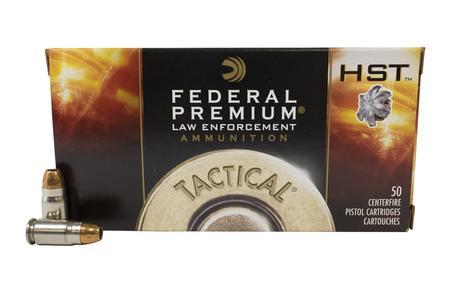 Federal 357 Sig 125 gr JHP HST Police Trade Ammo 50/Box